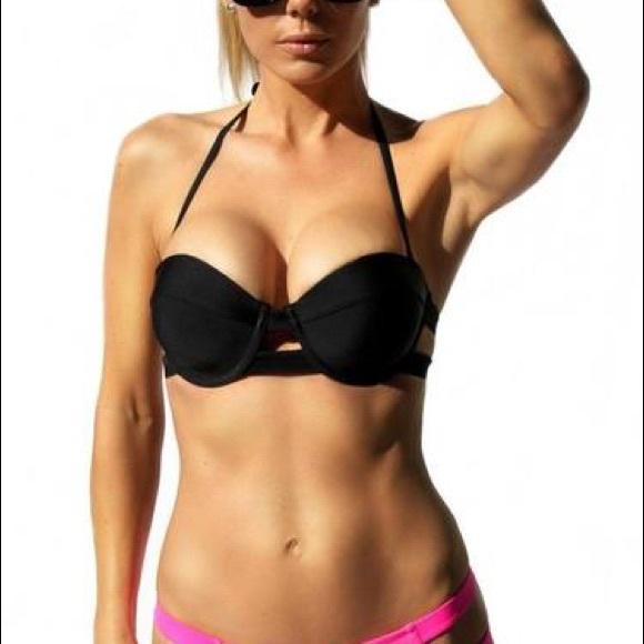 aa46db8c802 Forever Young Swim | Black Bikini Top | Poshmark